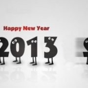 New Year Post Cards