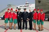 Captain / pilot, flight attendants