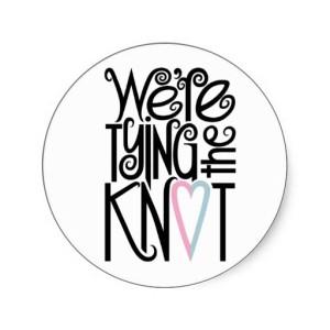 Tie the knot. Свадьба по-английски