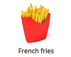 potatoes free or French fries