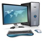 a computer – компьютер