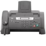 a fax-machine – факс-аппарат