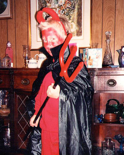 """Scott, Halloween, 1992"""