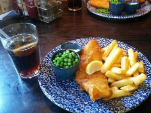 Традиционные fish-and-chips