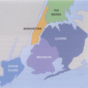 5 boroughs of new-york