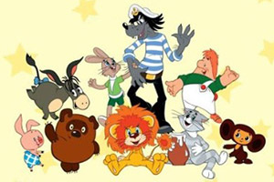 Персонажи российских мультфильмов