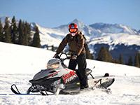 Езда на снегоходах