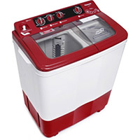 a semi-automatic washing machine – стиральная машина-полуавтомат