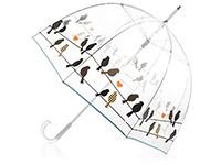 прозрачный зонт куполообразной формы