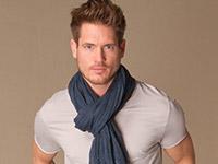 хлопковый шарф